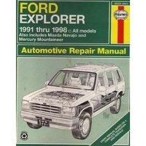 1998 ford explorer mercury mountaineer shop service manual 1 2 +.