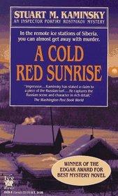 A Cold Red Sunrise (Inspector Rostnikov, Bk 4)
