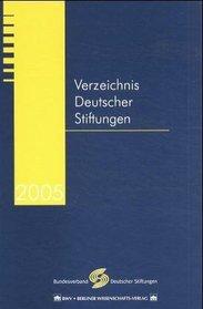 Verzeichnis Deutscher Stiftungen 2005