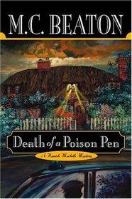 Death of a Poison Pen (Hamish MacBeth, Bk 20)