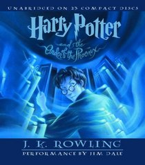 Harry Potter and the Order of the Phoenix (Book 5 Audio CD)