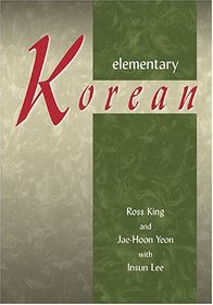 Elementary Korean: Includes a 74-minute Audio CD