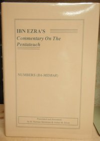 Ibn Ezra's Commentary on the Pentateuch:Numbers (Series 4)