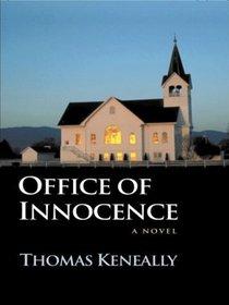 Office of Innocence (Large Print)