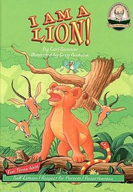 I Am A Lion with CD Read-Along (Another Sommer-Time Story Series)