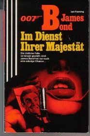 007 James Bond Im Dienste Ihrer Majestat/in Her Majesty's Service (German Edition)