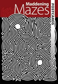 Maddening Mazes Postcards (Dover Postcards)