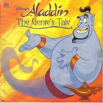 Disney's Aladdin: The Genie's Tale (Golden Super Shape Book)