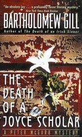 The Death of a Joyce Scholar (Peter McGarr, Bk 8)