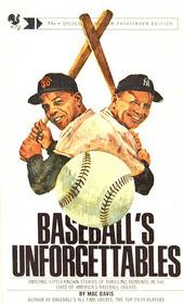 Baseball's Unforgettables