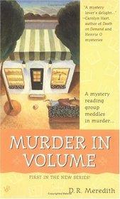 Murder in Volume (Megan Clark, Bk 1)