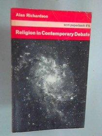 RELIGION IN CONTEMPORARY DEBATE