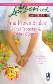 Small-Town Brides: A Dry Creek Wedding / A Mule Hollow Match (Love Inspired, No 495) (Larger Print)