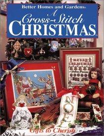 Better Homes and Gardens: A Cross-Stitch Christmas : Handmade Treasures