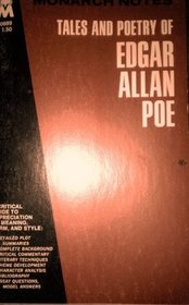 Tales and Poetry of Edgar Allan Poe (Monarch Notes)