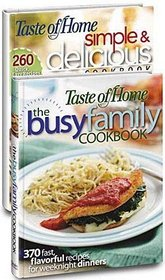 Taste of Home Simple & Delicious Home Cooking - 2 Book Set