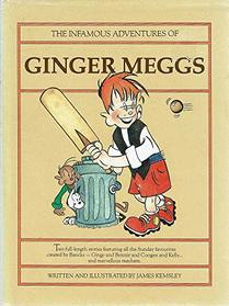 THE INFAMOUS ADVENTURES OF GINGER MEGGS.
