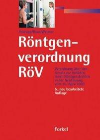 R�ntgenverordnung R�V