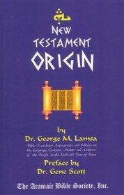 New Testament Origin