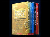 Artemis Fowl Complete 5-Book Boxed Set: Artemis Fowl, The Arctic Incident, The Eternity Code, The Opal Deception, and The Lost Colony
