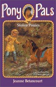 Stolen Ponies (Pony Pals (Hardcover))