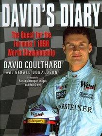 David's Diary: The Quest for the Formula 1 1998 Grand Prix Championship