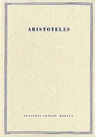 Meteorologie/Ueber Die Welt (Aristoteles Werke) (German Edition)