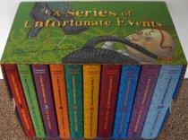 A series of Unfortunate events--books 1-10 (A series of unfortunate events) in slipcase, 11,12,13 separate. Complete set