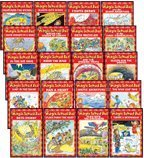 THE MAGIC SCHOOL BUS READER COMPLETE 20-BOOK SET (Scholastic Readers, Level 2) (The Magic School Bus . . . The Wild Leaf Ride, Sleeps for the Winter, Lost in the Snow, Flies from the Nest, Takes a Moonwalk, Arctic Adventure, Has a Heart, Gets Crabby, Flie