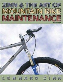 Zinn and the Art of Mountain Bike Maintenance, Third Edition