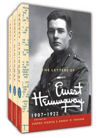 The Letters of Ernest Hemingway, Volumes 1-3 3 Volume Hardback Set: Volume 1-3 (The Cambridge Edition of the Letters of Ernest Hemingway)