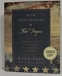 RAND PAUL signed
