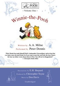 Winnie-The-Pooh: Library Edition (A.a. Milne's Pooh Classics)