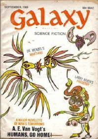Galaxy Science Fiction, September 1969; Part 3 of *Dune Messiah* (Volume 29, No. 1)