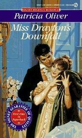 Miss Drayton's Downfall (Signet Regency Romance)