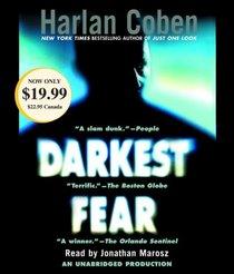 Darkest Fear (Myron Bolitar, Bk 7) (Audio CD) (Unabridged)
