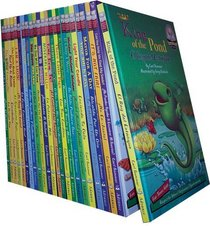 Set of 24 Bilingual Sommer-Time Stories-English/Spanish Reinforced Library Edition with 48 Cds (Another Sommer-Time Story Bilingual)