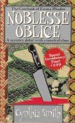 Noblesse Oblige (Emma Rhodes, Bk 1)