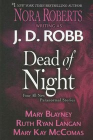 Dead of Night: Eternity in Death / Amy and the Earl's Amazing Adventure / Timeless / On the Fringe (Large Print)