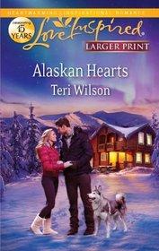 Alaskan Hearts (Love Inspired (Large Print))