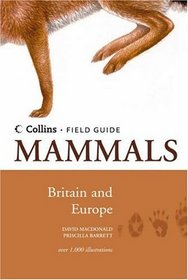 Mammals of Britain  Europe (Collins Field Guide)