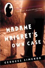 Madame Maigret's Own Case
