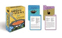 Moosewood Restaurant Soups and Stews Deck: 50 recipes for simple and satisfying meals