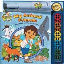 Nick Jr. Go Diego Go! My Animal Friends Storybook and Spotting Scope (Go Diego Go!)