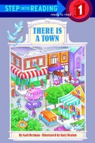 There is a Town (Step-Into-Reading, Step 1)