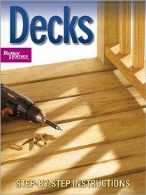 Decks (Better Homes & Gardens Do It Yourself)