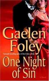 One Night of Sin (Knight Miscellany, Bk 6)