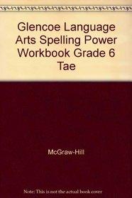 Spelling Power Workbook Teacher's Edition grade 6