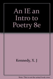 An IE an Intro to Poetry 8e