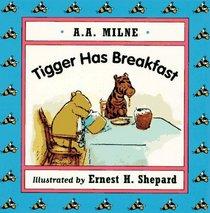 Tigger Has Breakfast Mini Board Book